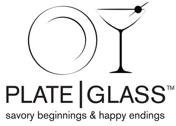Plate | Glass. Savory beginnings and happy endings.